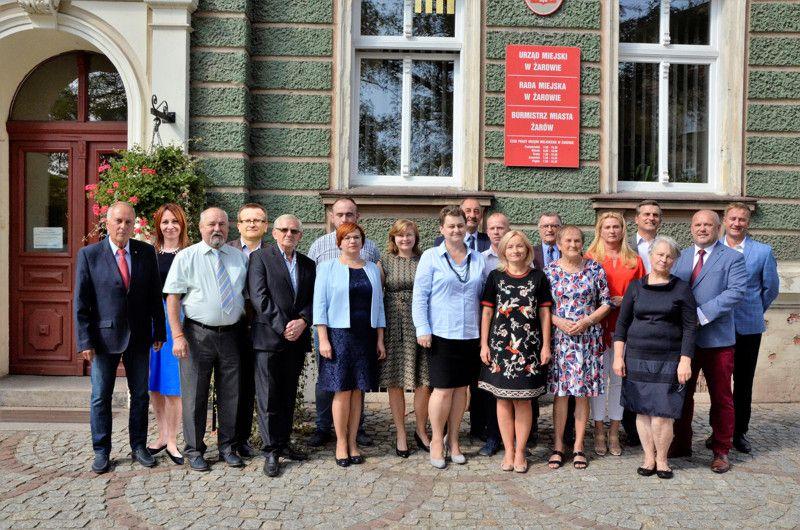 Żarów: Pierwsza sesja nowej kadencji Rady Miejskiej Żarowa