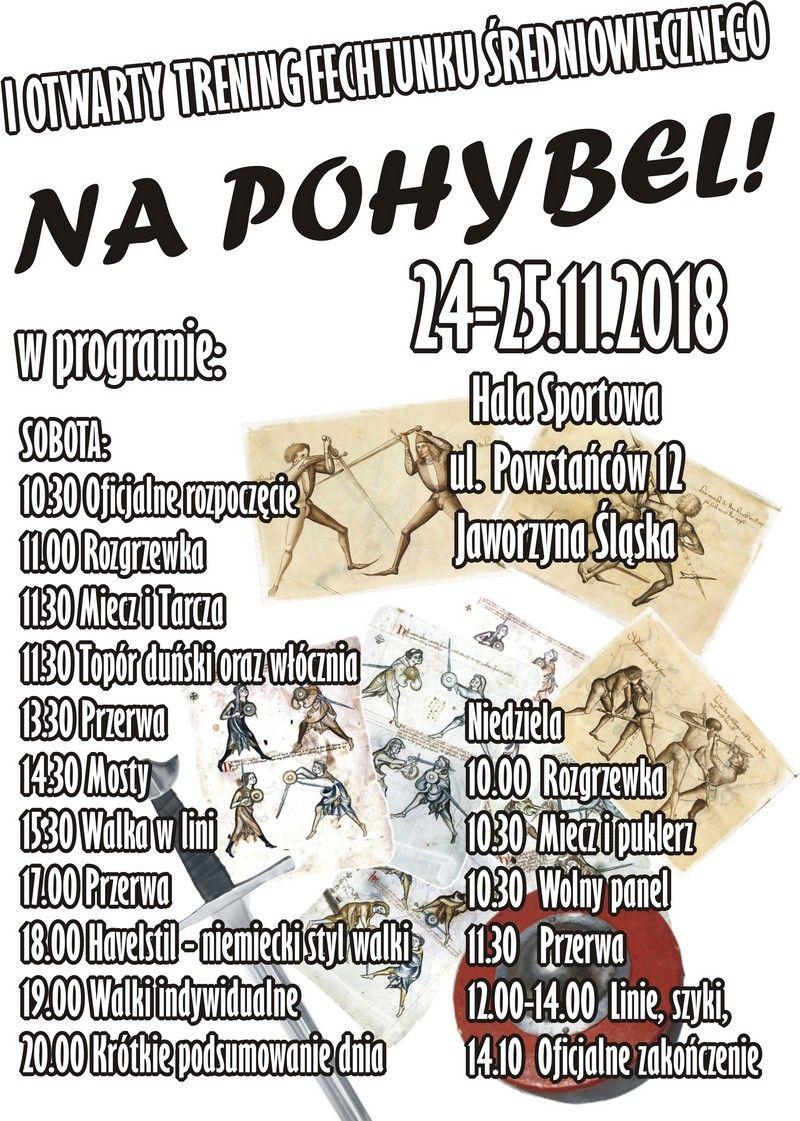 Jaworzyna Śląska: Otwarty Trening Fechtunku Średniowiecznego