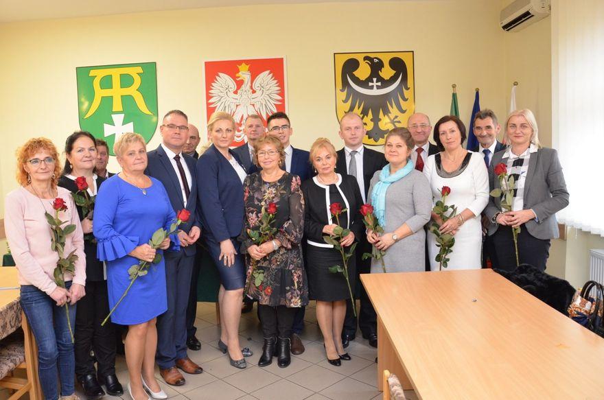 Marcinowice: Ślubowania – I Sesja Rady Gminy Marcinowice