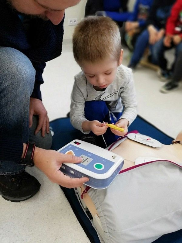 Bystrzyca Dolna: Nauka pierwszej pomocy w przedszkolu w Bystrzycy Dolnej