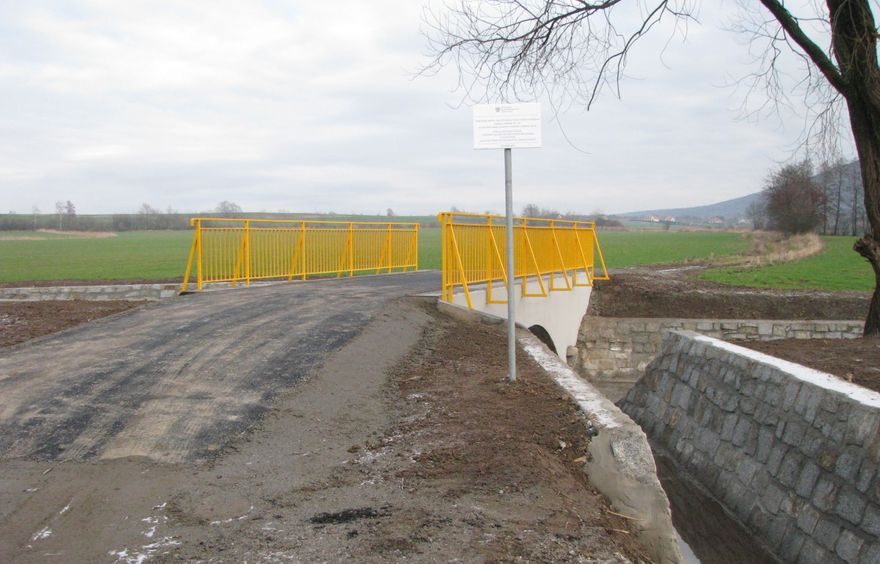 Wirki: Most w Wirkach po odbiorze