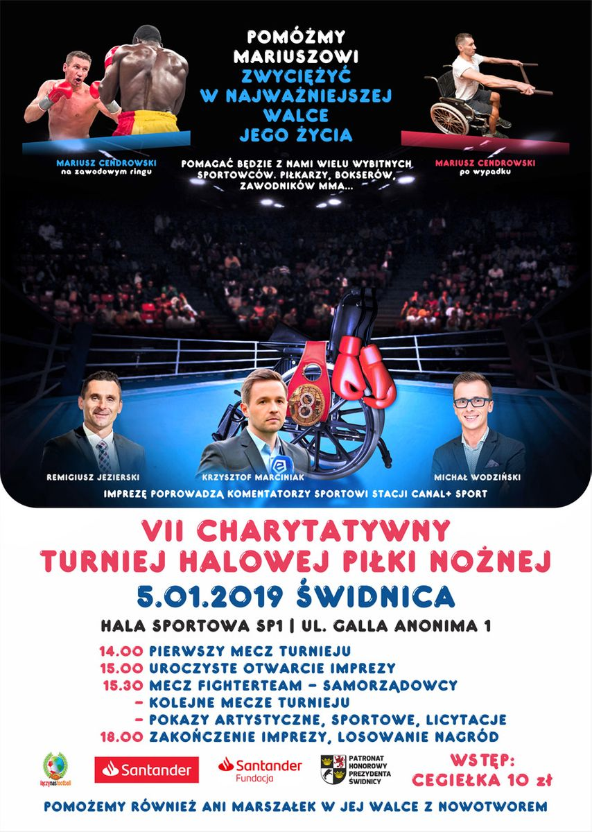 Świdnica: VII Charytatywny Halowy Turniej Piłki Nożnej w Świdnicy