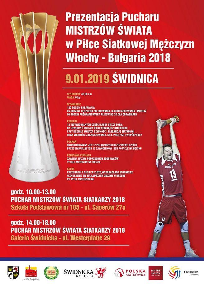 Świdnica: Zobacz Puchar Mistrzów Świata w Siatkówce!