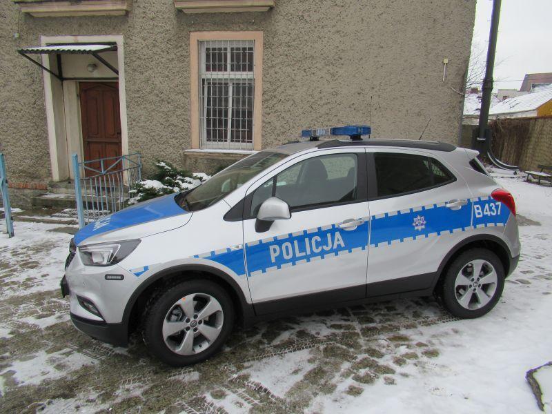 Strzegom: Nowy radiowóz dla Komisariatu Policji w Strzegomiu