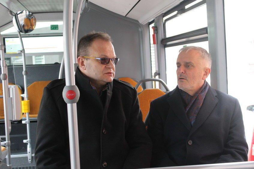 Świebodzice: Jazda testowa nowym autobusem