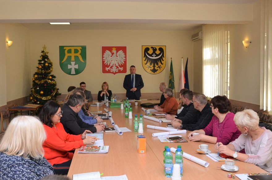 Gmina Marcinowice: Wójt podziękował sołtysom