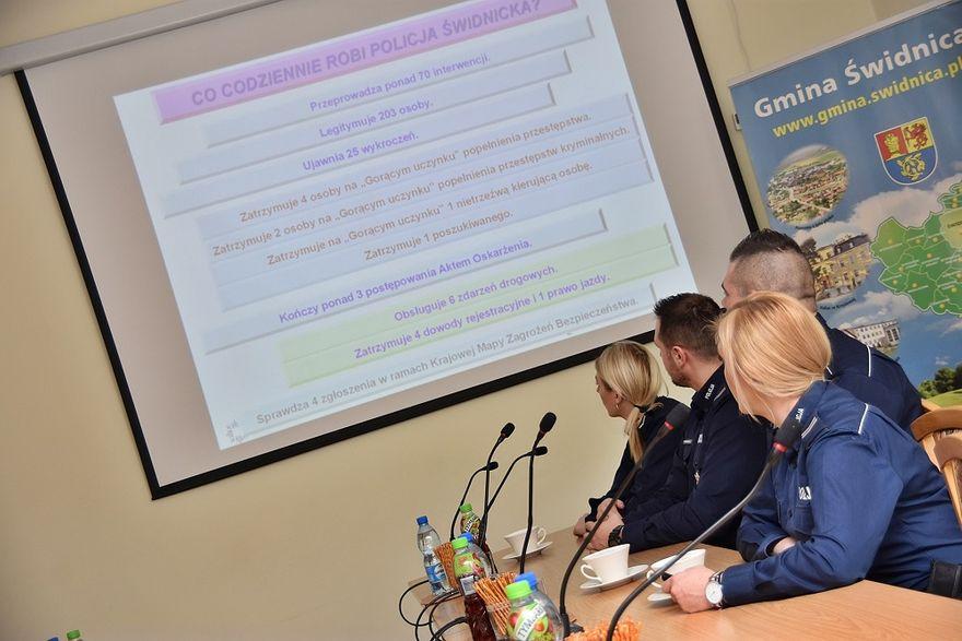 Słotwina: Policjanci ze Słotwiny podsumowali 2018 rok