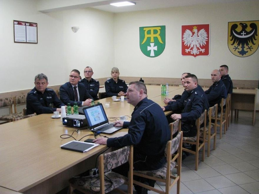 Marcinowice: Odprawa roczna Policji w Marcinowicach