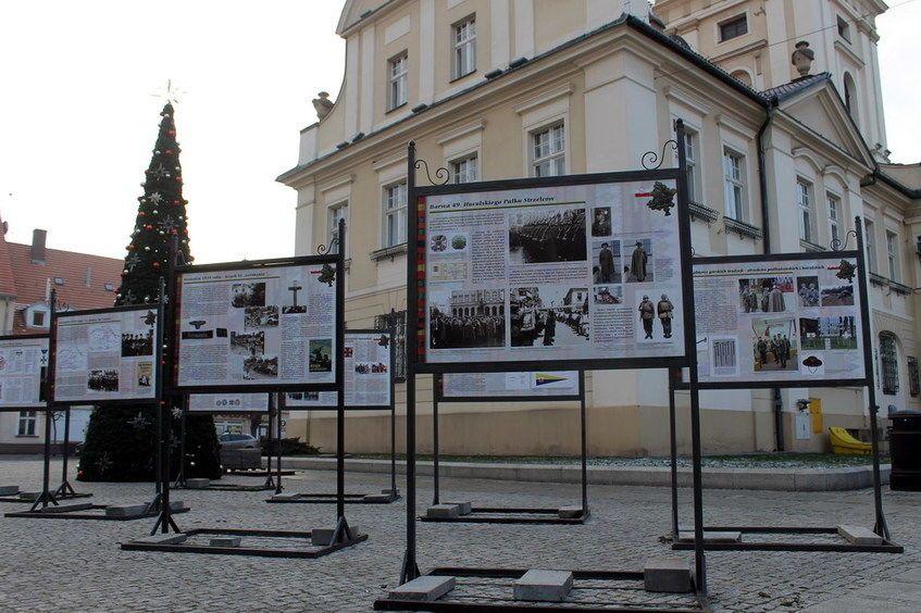 Świebodzice: Huculski Pułk Strzelców w Świebodzicach