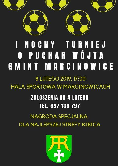 Marcinowice: I Nocny Turniej o Puchar Wójta Gminy Marcinowice