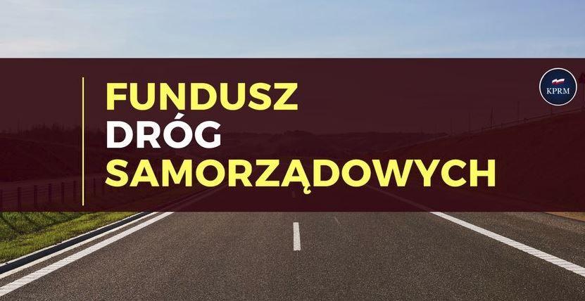 REGION: Rekordowe wsparcie dla dróg lokalnych