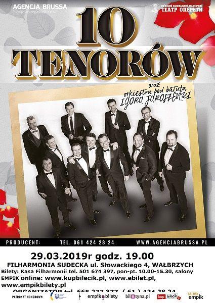 REGION:  10 tenorów zawita do Wałbrzycha