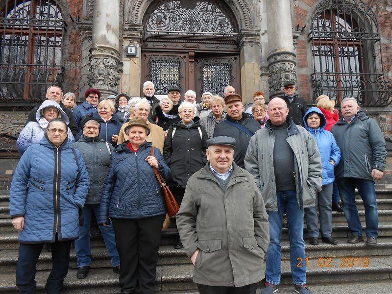 Strzegom: Emeryci zwiedzili stolicę Dolnego Śląska