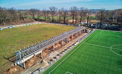 Żarów: Inwestycje na żarowskim stadionie sportowym