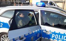 Strzegom: 35–latek zatrzymany w bezpośrednim pościgu przez policjantów