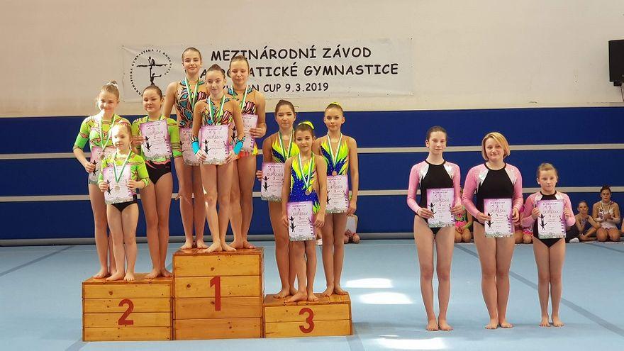 Lutomia Dolna: Młode akrobatki z Lutomi triumfują w Pradze