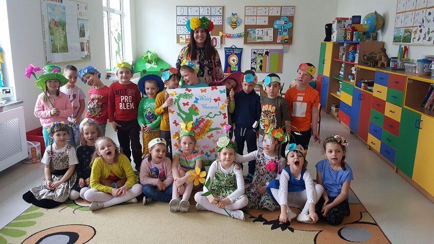 Gmina Świdnica: Przedszkolaki przywitały wiosnę