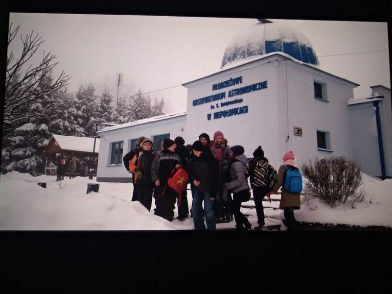 Strzegom: Wykład i teleskop astronomiczny dla strzegomskiego LO