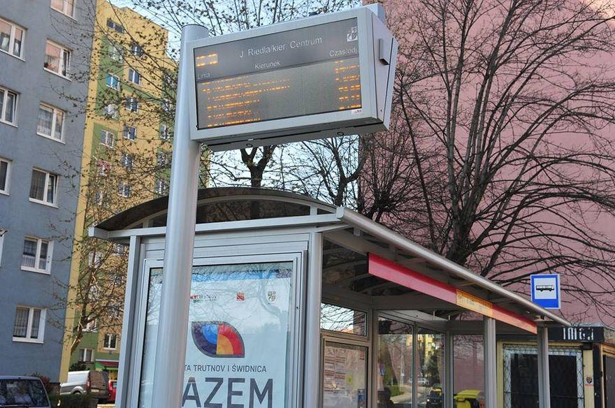 Świdnica: Kolejne udogodnienia dla pasażerów MPK w Świdnicy