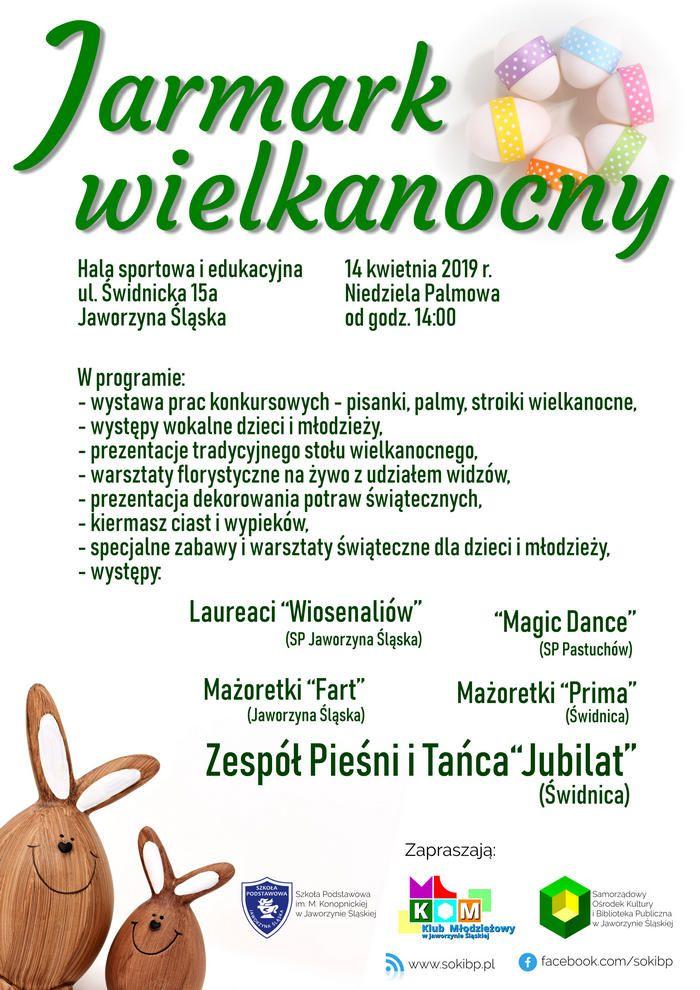 Jaworzyna Śląska: Zapraszamy na Jarmark Wielkanocny do Jaworzyny Śląskiej