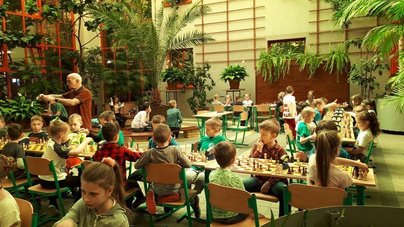 Żarów: Młodzi szachiści nie próżnują