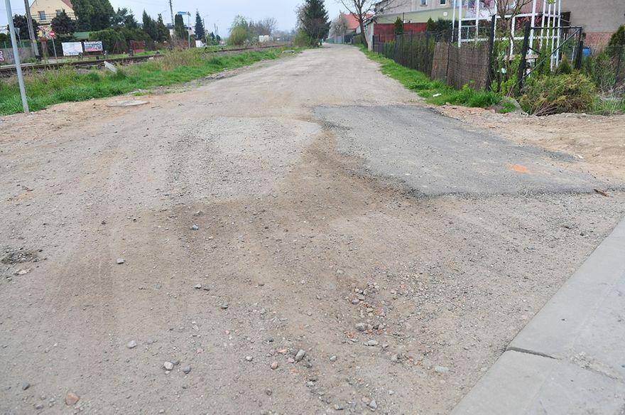 Świdnica: Ulica Chłopska do remontu