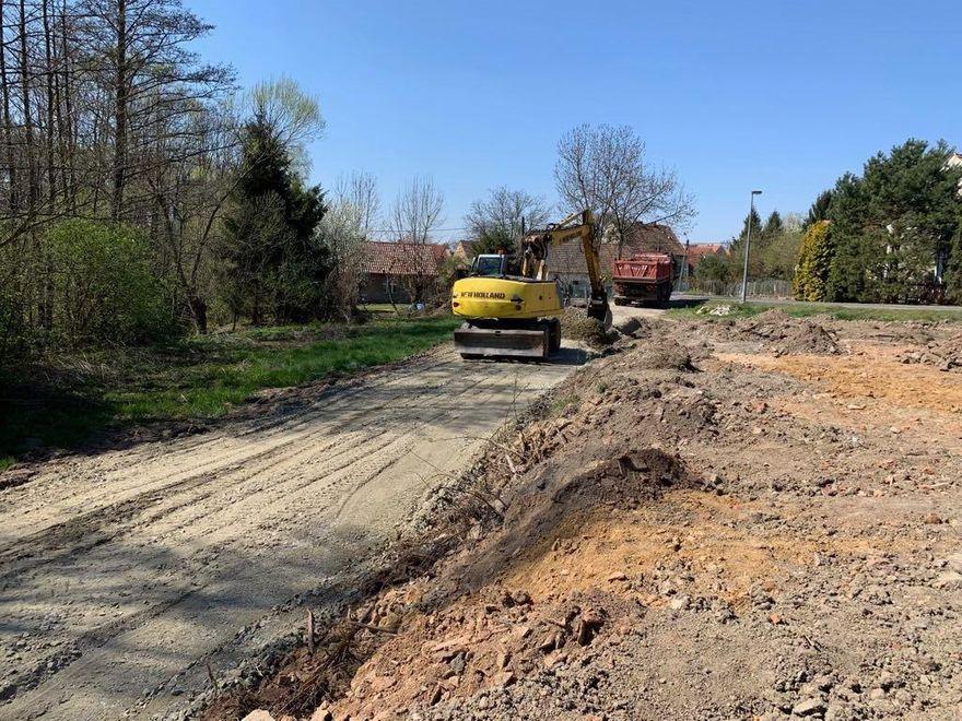 Mysłaków: Rozpoczęła się budowa drogi dojazdowej do gruntów rolnych w Mysłakowie