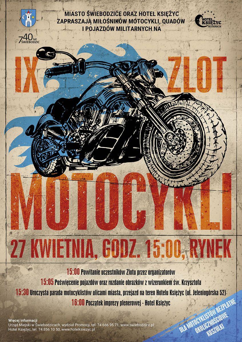 Świebodzice: IX Zlot Motocykli  już w tę sobotę