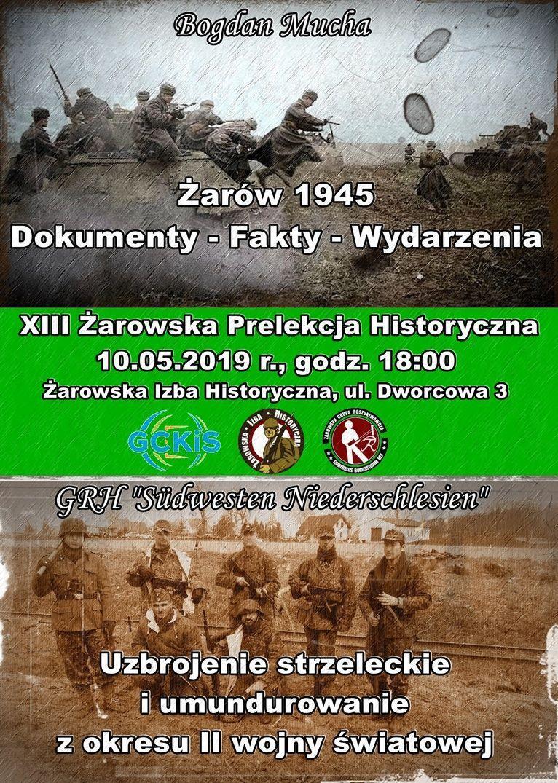 Żarów: XIII Żarowska Prelekcja Historyczna