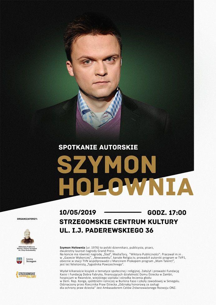 Strzegom: Spotkanie autorskie z Szymonem Hołownią
