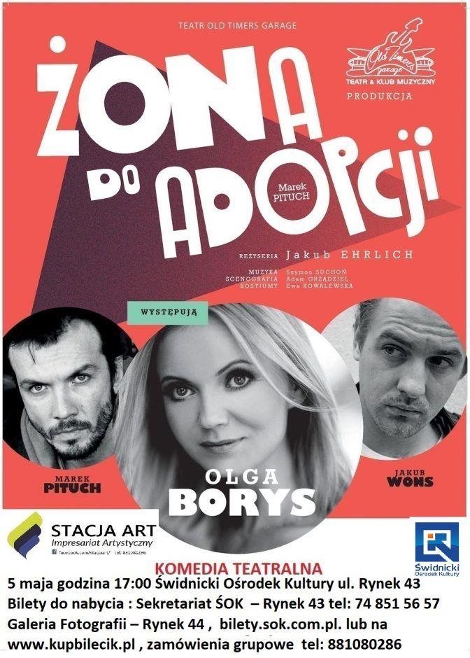 Świdnica: Przyjdź na spektakl komediowy