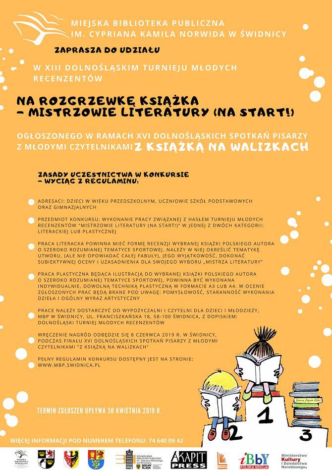 powiat świdnicki: XIII Dolnośląski Turniej Młodych Recenzentów