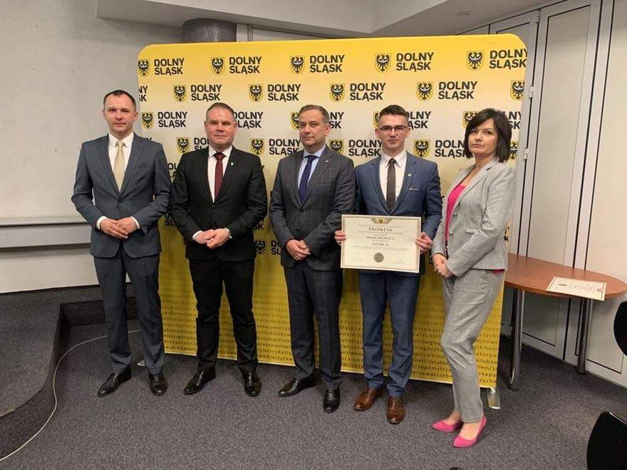Wirki: Promesa dla Gminy Marcinowice