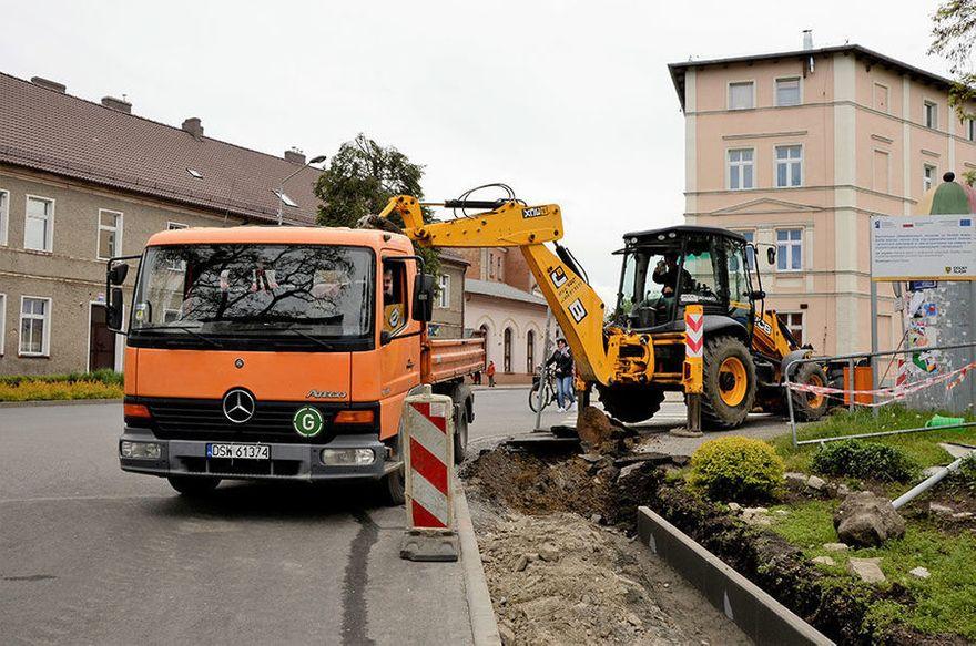 Żarów: Ulica Zamkowa i Sportowa w remoncie