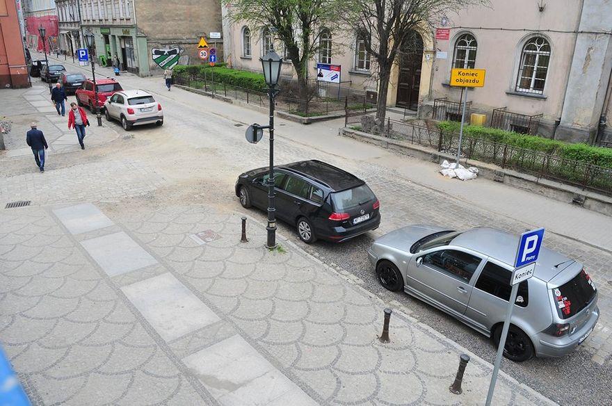 Świdnica: Rozpoczyna się przebudowa Franciszkańskiej