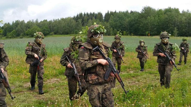 Strzegom: Poligon klas mundurowych LO