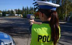 powiat świdnicki: W terenie zabudowanym jechała z prędkością 101 km/h