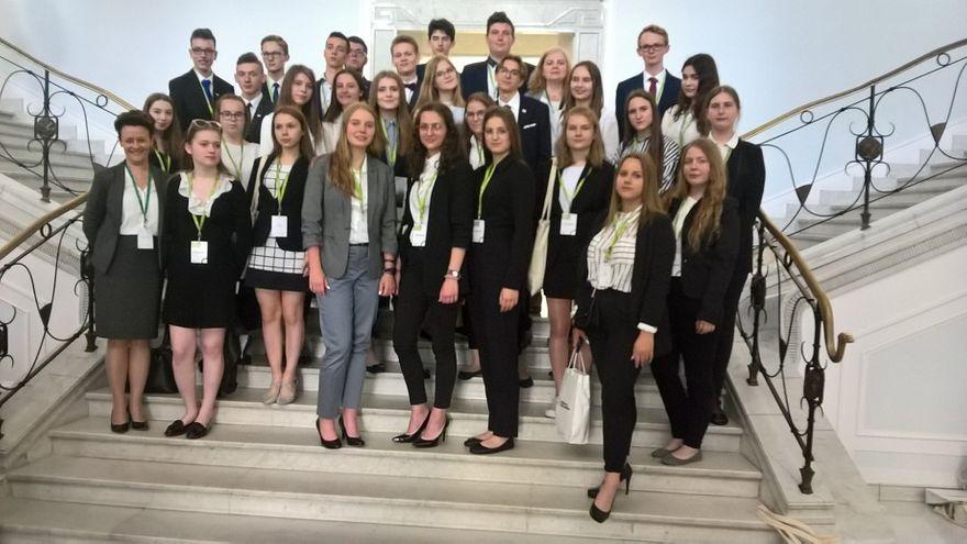 Gmina Marcinowice: Reprezentanci gminy Marcinowice obradowali podczas Sejmu Dzieci i Młodzieży