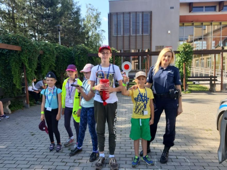 powiat świdnicki: Bezpieczne wakacje