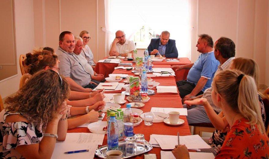Gmina Dobromierz: Sołtysi u wójta