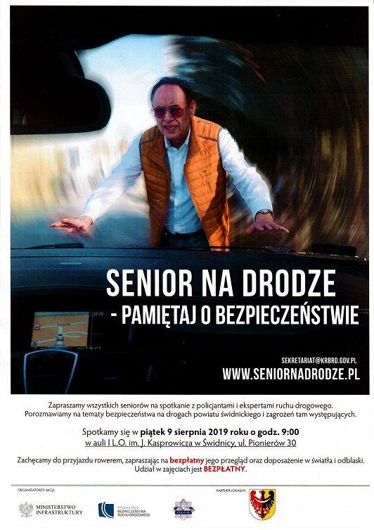Świdnica: Senior na drodze