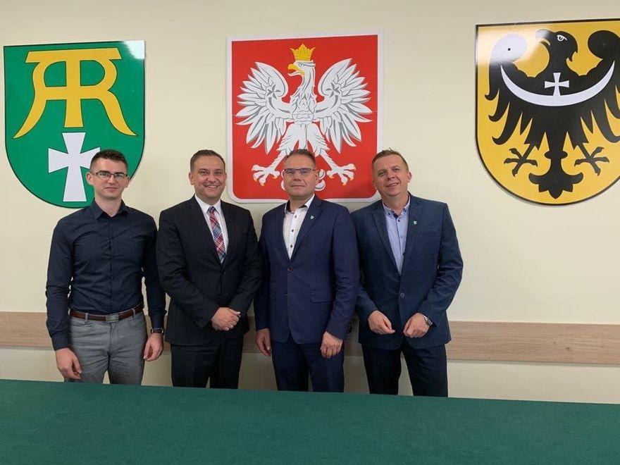 Gmina Marcinowice: Rozmawiali o inwestycjach