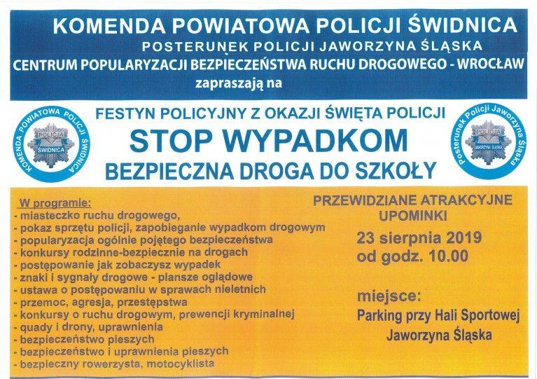 Jaworzyna Śląska: Policjanci w Jaworzynie