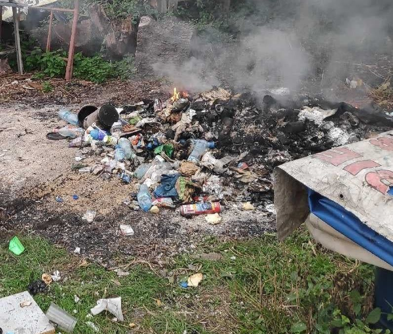 Świdnica: Spalał plastik