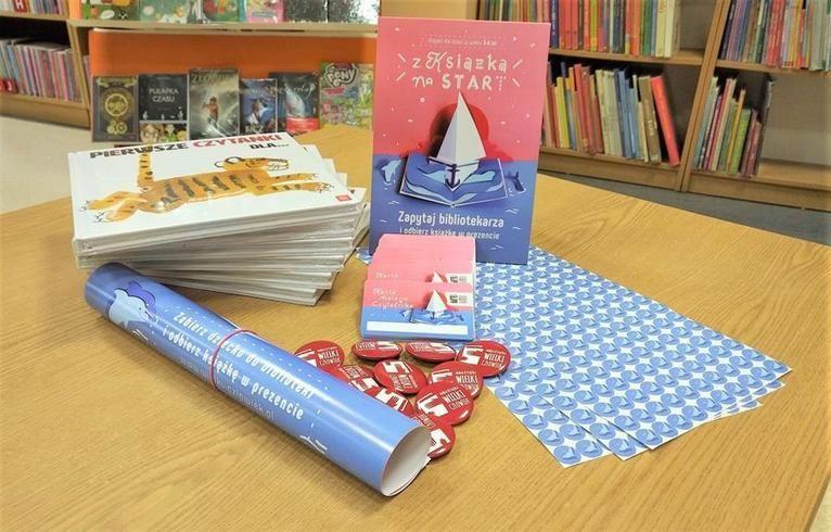 Żarów: Biblioteka w kampanii