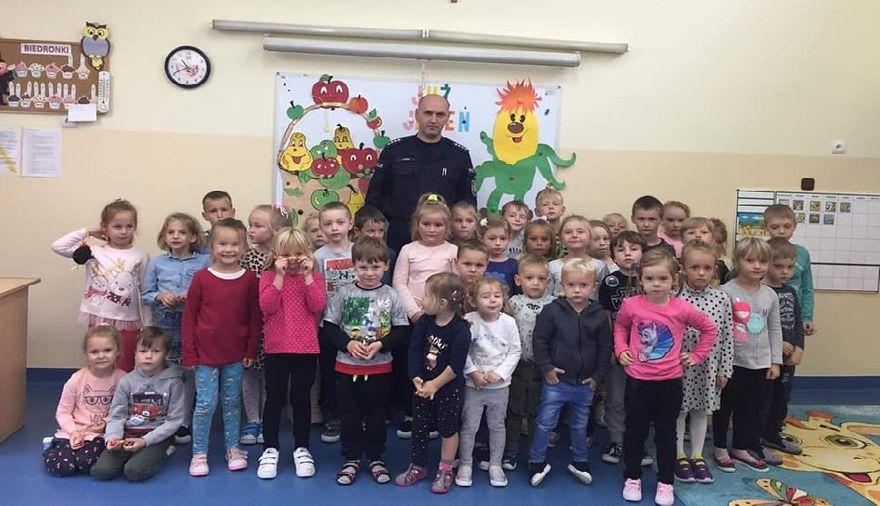 Marcinowice: Policjanci w szkole