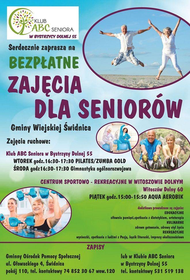 Bystrzyca Dolna: Bezpłatne dla seniorów