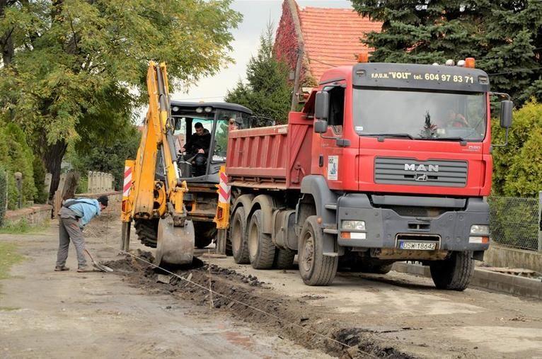 Gmina Żarów: Trwa budowa