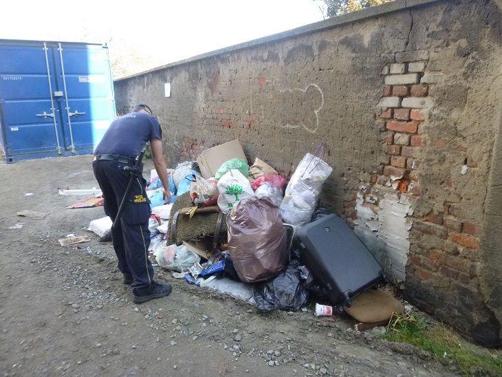 Świdnica: Góra śmieci