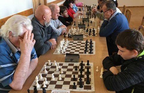 Strzegom: Grali w szachy